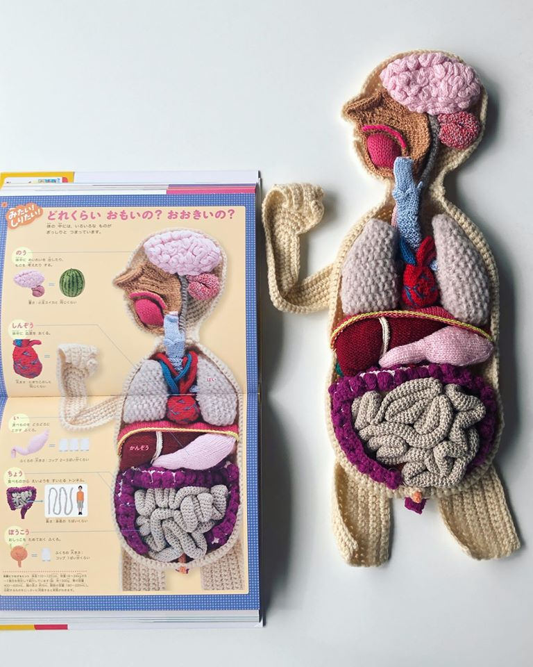 Amazing Knit & Crochet Body By NekoKnits ... So Colorful and Fun!
