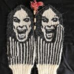 Knit a Pair of Ozzy Osbourne-Inspired Mittens, Designed By Lotta Lundin