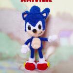 Crochet a Sonic The Hedgehog Amigurumi & Appliqué