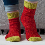 Knit a Pair of 'Love You Socks' … Makes a Sweet Gift and Practical Too!