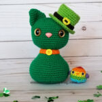 Crochet a St. Patrick's Day Cat and Rainbow Bird Amigurumi … Free Pattern!