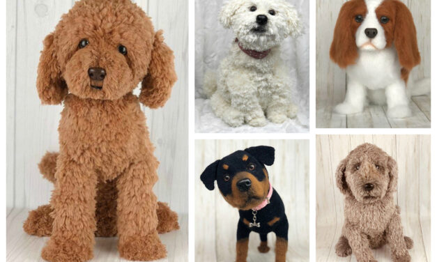 Designer Spotlight: These Crochet Dogs Look So Real! And Yes, There Are Patterns To Make 'Em!