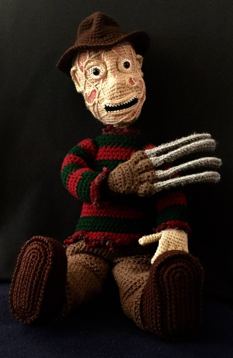 Get the pattern by Mindy Kindley of After Dark Crochet #crochet #horror