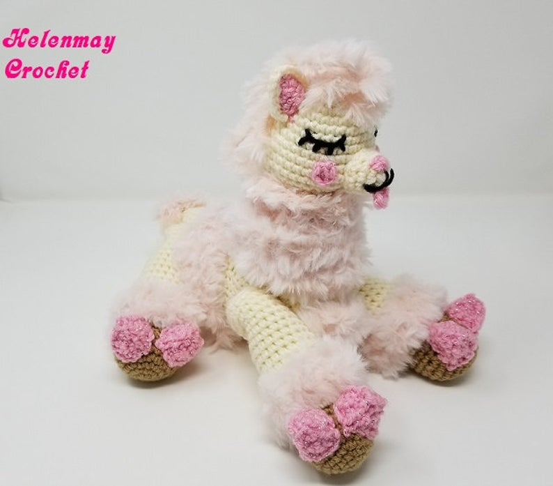 Get the pattern from Helen May Crochet #crochet #amigurumi #dogs #dog