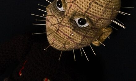 Crochet Amigurumi Doll Inspired By Pinhead From Hellraiser … Pattern Designed By After Dark Crochet