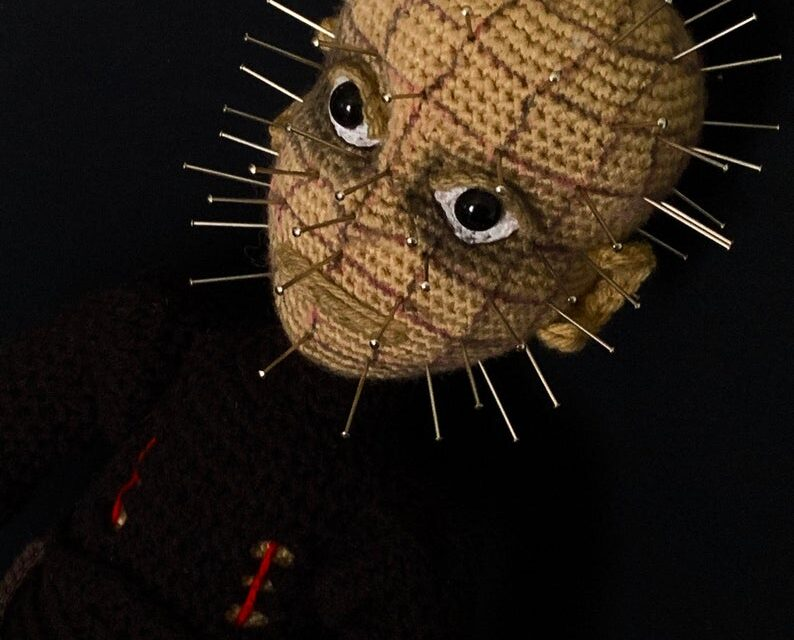 Crochet Amigurumi Doll Inspired By Pinhead From Hellraiser … Pattern Designed By After Dark Crochet