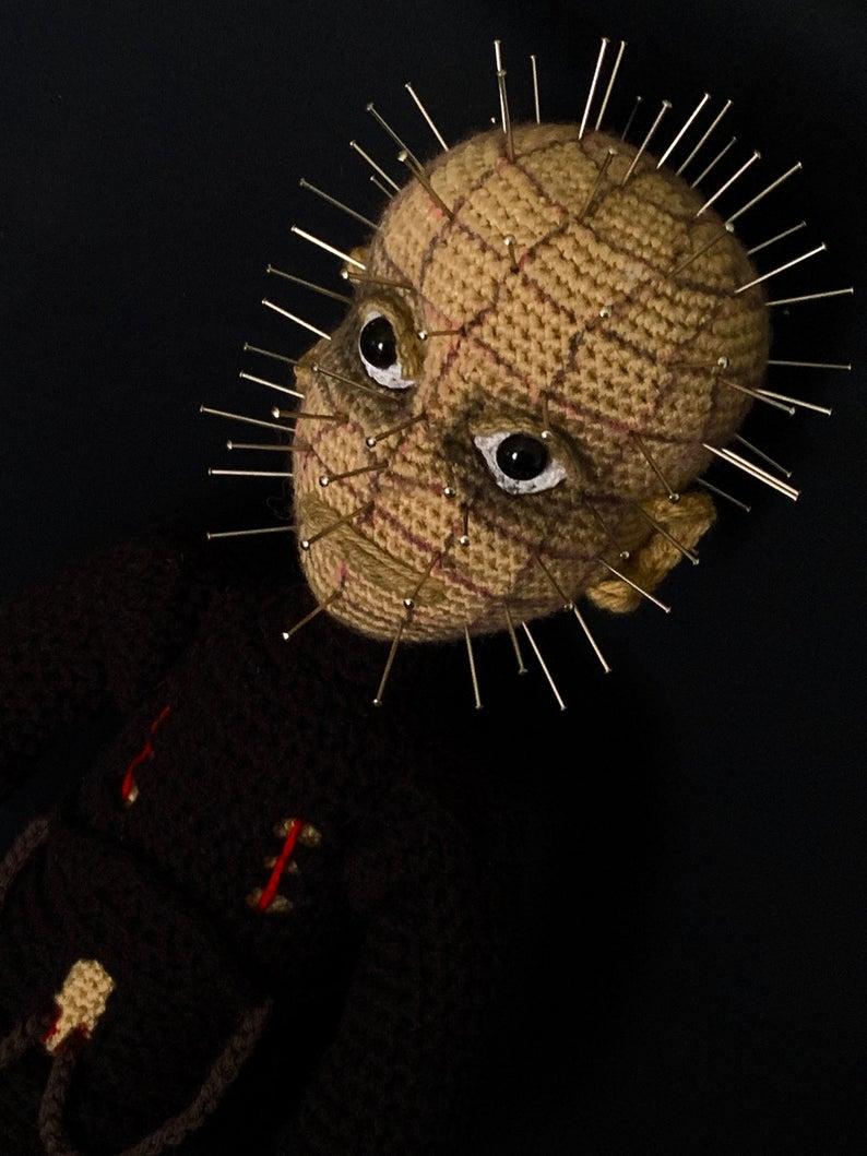 Crochet Amigurumi Doll Inspired By Pinhead From Hellraiser ... Pattern Designed By After Dark Crochet