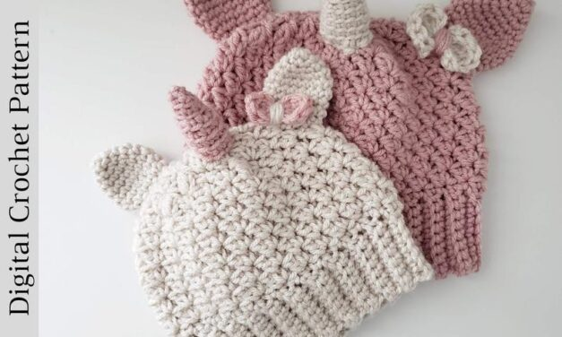 Crochet a Cute Unicorn Beanie … How Old Is Too Old For This One?