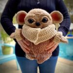Crochet a Life-Size Teddy Bear Cub Amigurumi, Designed By Crafty Is Cool!