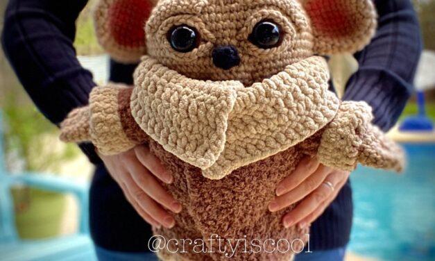 Crochet a Life-Size Teddy Bear Cub Amigurumi, Designed By Crafty Is Cool!
