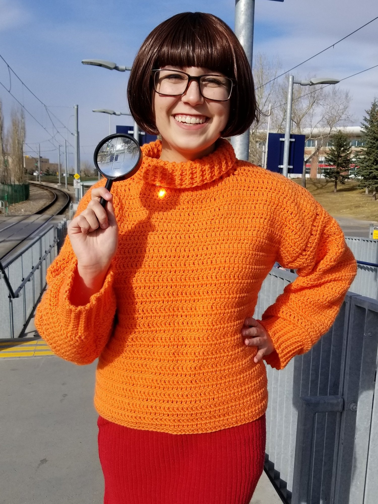 Jinkies! Scooby Found A Clue and It Leads To This FREE Velma Cosplay Pattern For Crocheters!