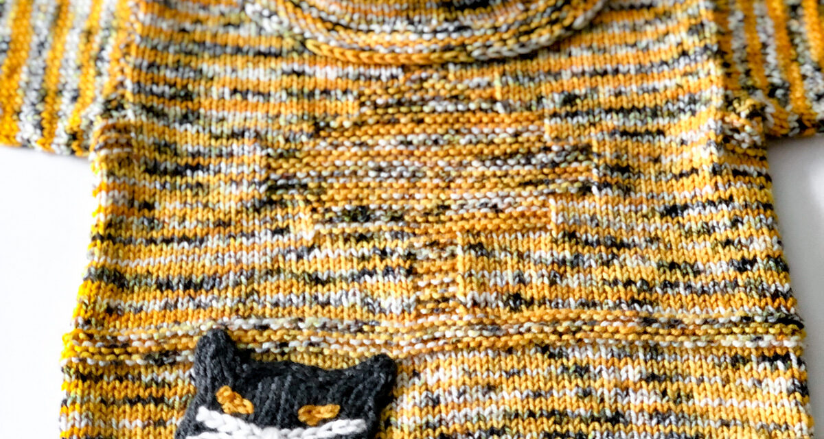 Meow! Knit a Kitty Boo Tunic, Designed By Faina Goberstein
