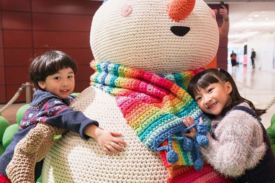 Anne Galante's Life Sized Crochet Snowman Amigurumi … The Only Thing That Melts Is Our Hearts
