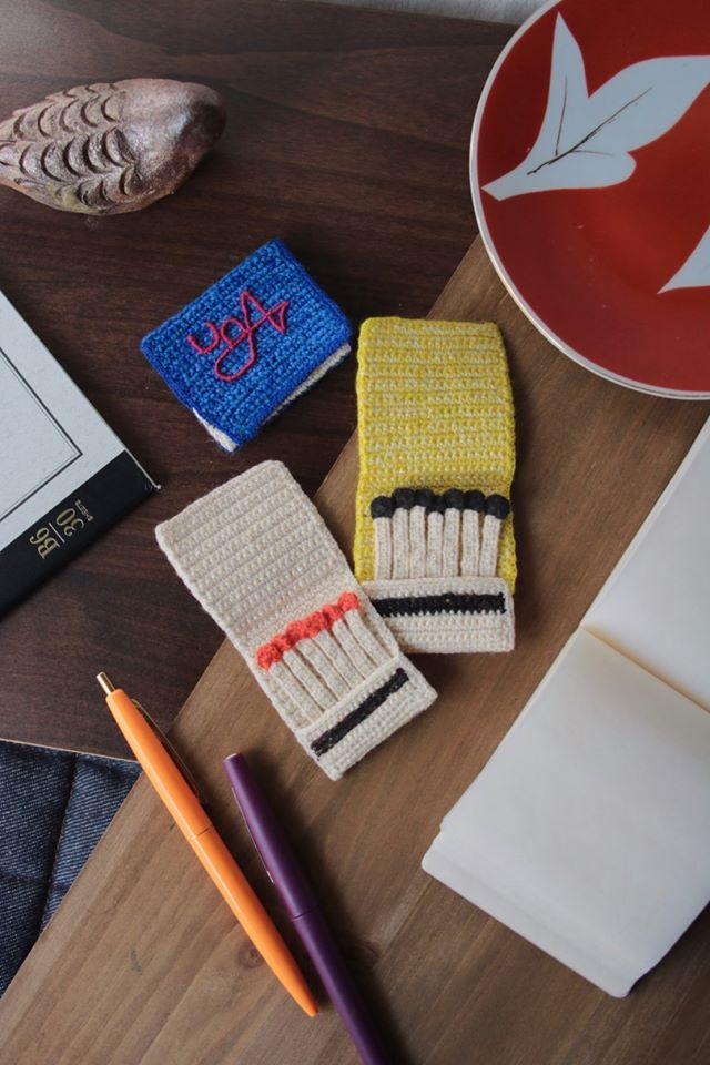 Unusual Crochet: Check Out 203gow's Matchbooks