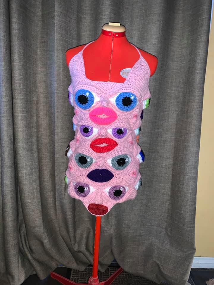 The Wonderful and Wacky Work of Australian Crochet Artist, Deb Elkes