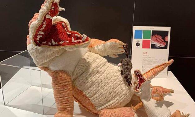 Breathtaking Life-Sized Crocodile Amigurumi, Crocheted By Mitsue Fujita aka Lumièna