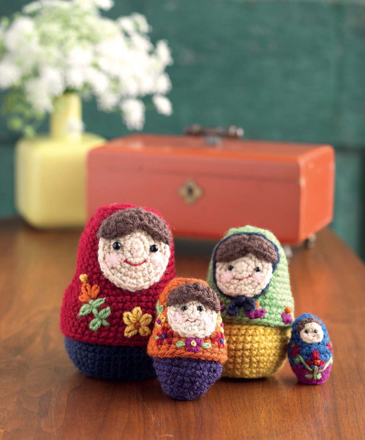 Free Pattern: Crochet Nesting Dolls! Get a Fun Matryoshka Pattern By Amy Gaines