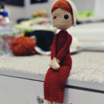 Under His Eye: Crochet An Amigurumi Inspired By The Handmaid's Tale