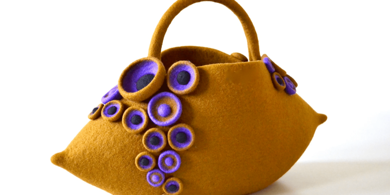 Fine Artist Atsuko Sasaki Makes Incredible Felt Object Bags That Are Nothing Short Of Eye-Popping …