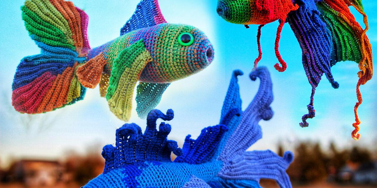 Crochet All The Fancy Fish You Fancy … Two Fun Amigurumi Sets From Megan Lapp
