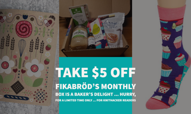 For KnitHacker Readers! Take $5 Off A Fikabröd Subscription Box, Perfect For The Baking Obsessed!