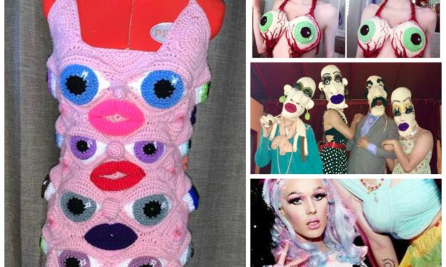 The Wonderful and Wacky Work of Australian Crochet Artist, Deb Elkes