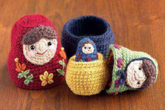 Free Pattern: Crochet Nesting Dolls! Get a Fun Matryoshka Pattern By Amy Gaines