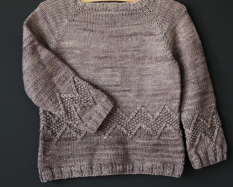 Knit an Understated Charlie Brown-Inspired Sweater, Designed By Lisa Chemery – This is a Must-Make!