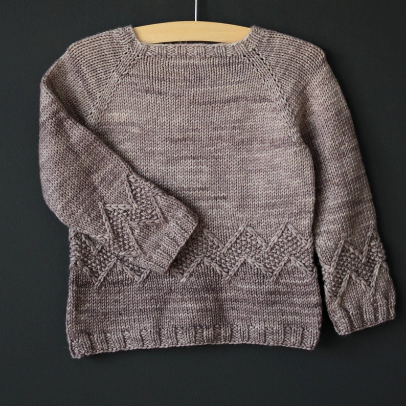 Knit an Understated Charlie Brown-Inspired Sweater, Designed By Lisa Chemery - This is a Must-Make!