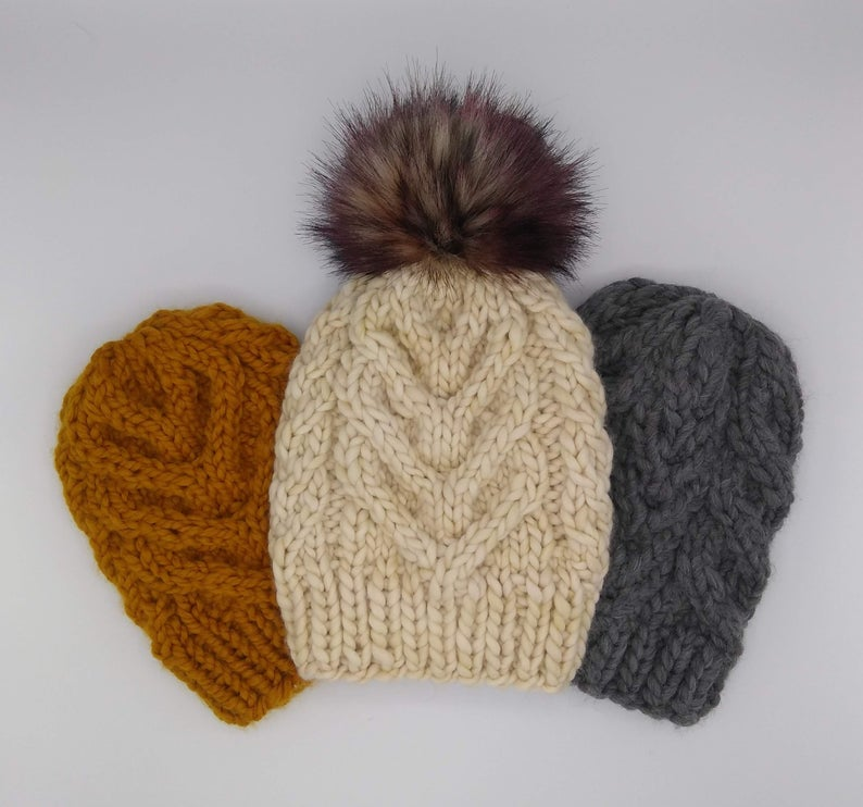 Get the knit pattern designed by Jenny Noto of Wanded #knitting