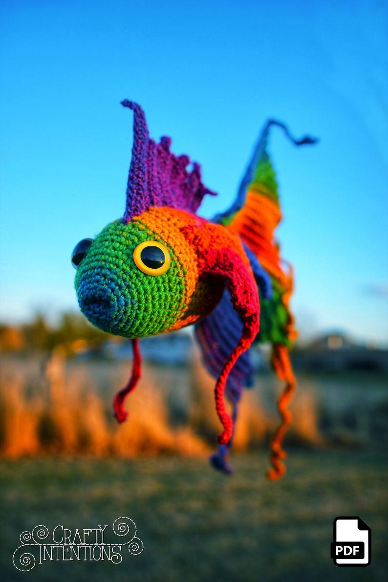 Crochet All The Fancy Fish You Fancy ... Two Fun Amigurumi Sets From Megan Lapp