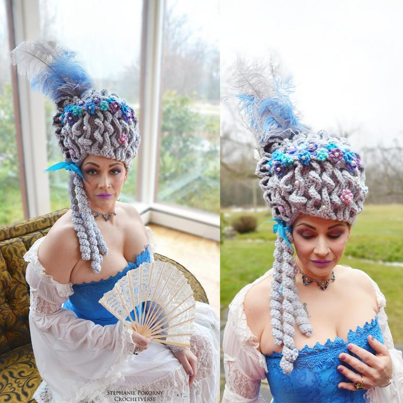 Forget Cake, Crochet This Marie Antoinette Wig For the Best Cosplay Ever ...