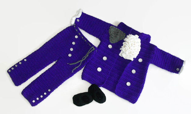 Crochet a Purple Rain Cosplay For Baby … Prince Fans Get Your Hooks Out!