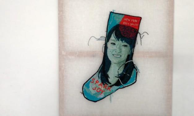 She Sparks Joy! Watch Katika Crochet A Portrait of Marie Kondo (KonMarie)