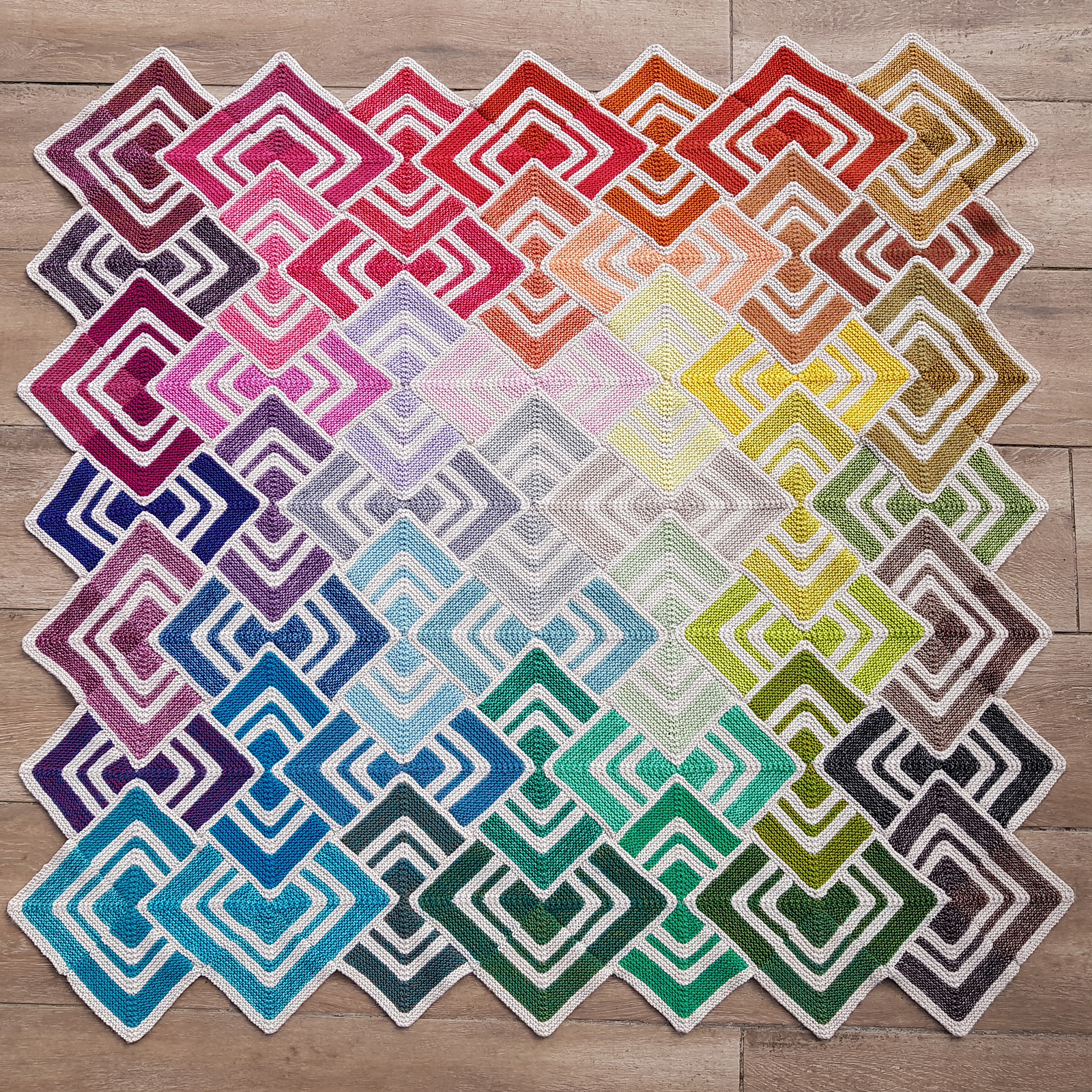 Your Next Project Is Here: Knit an Epic Sliding Tiles Afghan, Designed By Tammy Canavan-Soldaat