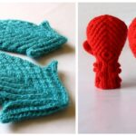 Octopus Mittens Or Squid Mittens? Which Pair of Wearable Art Will You Knit?