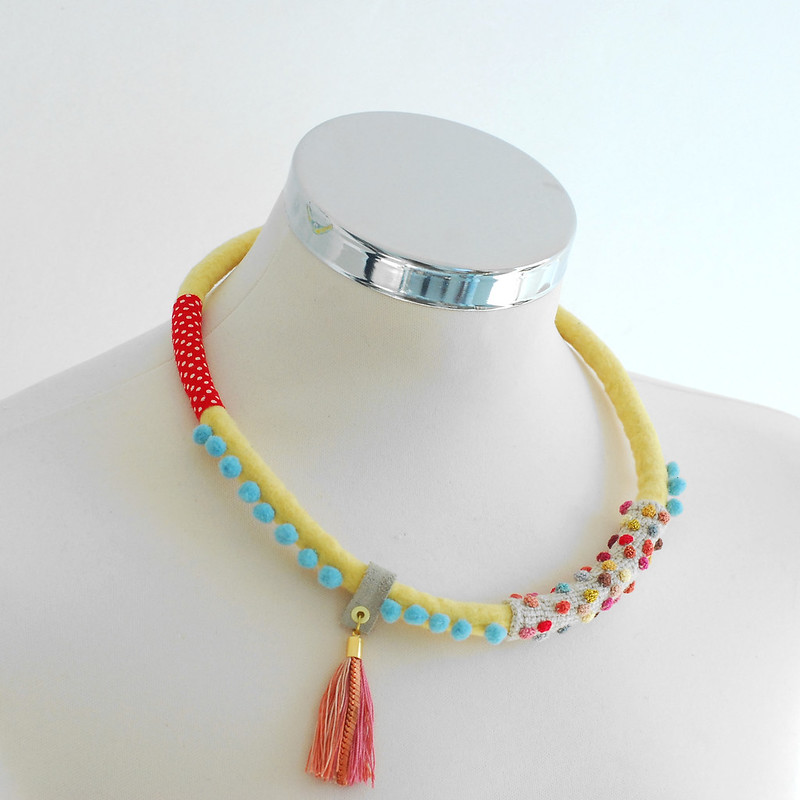 Weird, Wacky, Whimsical, Wonderful ... There Are Not Enough W Words To Fully Describe My Love For This Fiber Art Jewelry