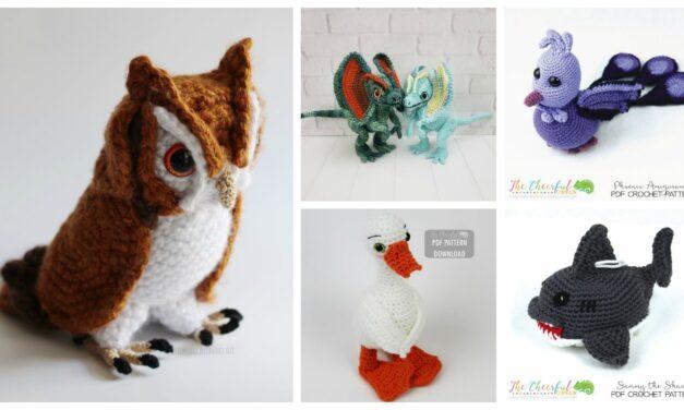 Designer Spotlight: Charming Crochet Critter Patterns By The Cheerful Chameleon