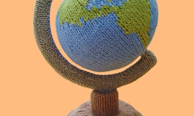 Knit a Mini-Globe With a Free Pattern From Clare Scope-Farrell