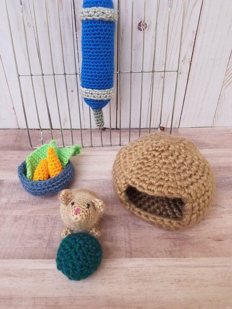 Annoo's Crochet World: Peep squeeks The Siberian Hamster | 1024x768