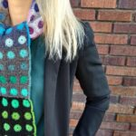 Crochet a Gorgeous Cityscapes Scarf Designed By Astri Bowlin