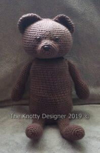 Get the crochet pattern designed by Angel Brandon, aka The Knotty Designer #crochet #amigurumi