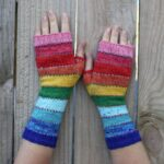Knit a Pair of 'Scrappily Ever After' Socks and Mittens, Designed By Doreen Blask