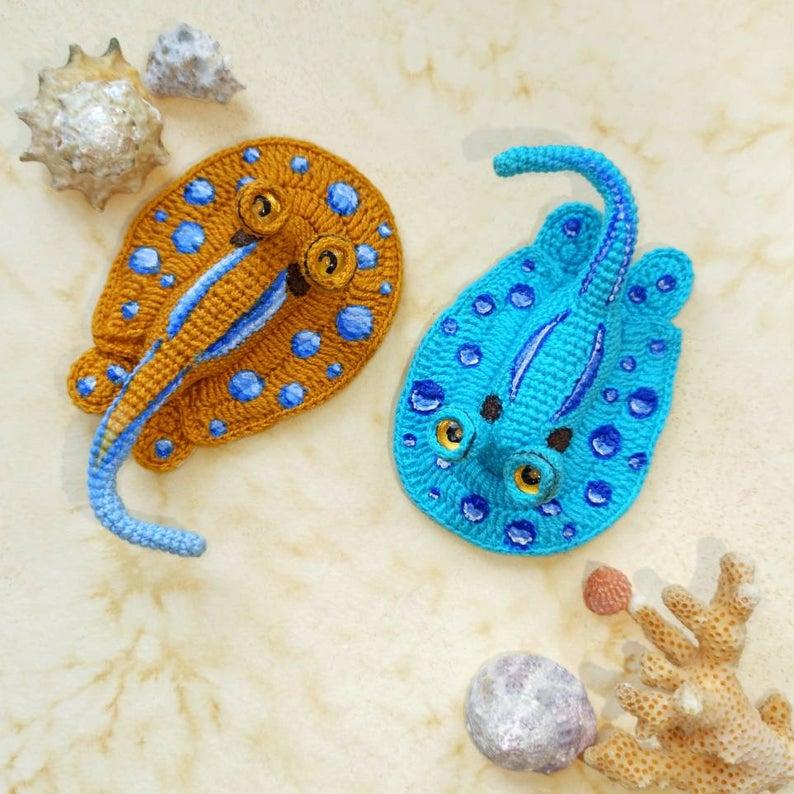 Stingray Crochet Stingray