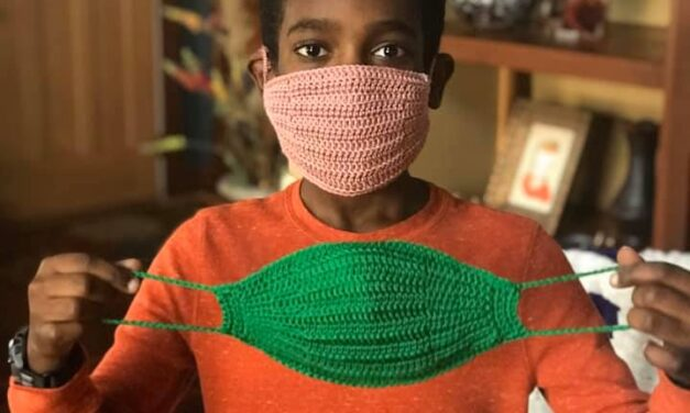 Free Video Tutorial: DIY Crochet Face Mask How-To With Jonah Larson