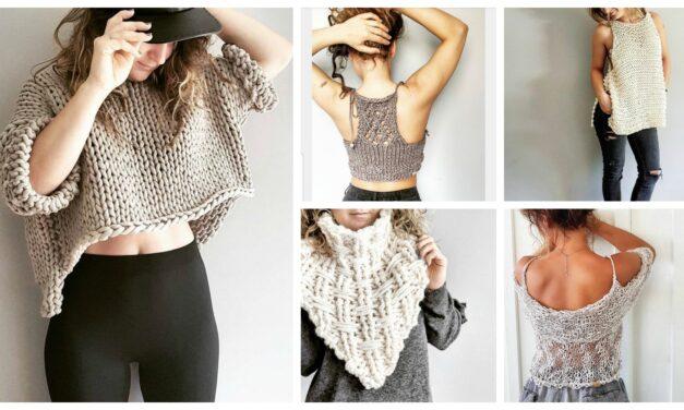 Designer Spotlight: The Best Knitwear Designed By Jackie of RustiKnits