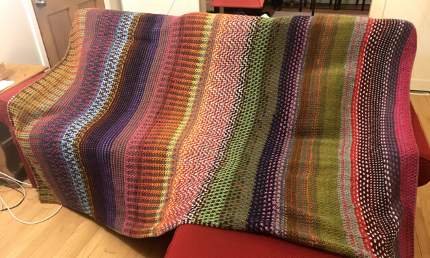 Knit a Magic Double Fade Blanket, It's The 'Ultimate Stashbuster' and the Pattern is FREE!