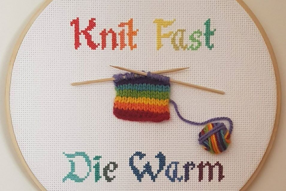 Knit Fast, Die Warm Hoop, The Pride Edition! 3D Embroidery At Its Best!