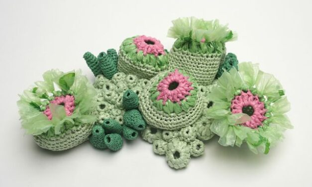 Gorgeous Plastic Sea Creatures Crocheted By Helle Jorgensen