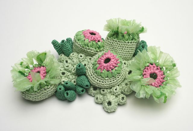 Gorgeous Plastic Yarn (Plarn) Sea Creatures Crocheted By Helle Jorgensen